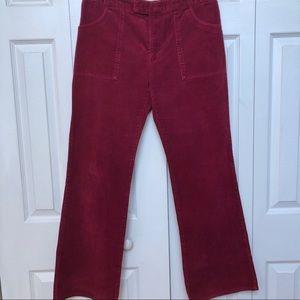 GAP-corduroy flare pants 👖